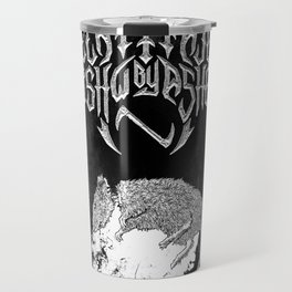 Decapitated by dishwasher II (black) Travel Mug