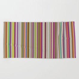 Stripes & stripes Beach Towel
