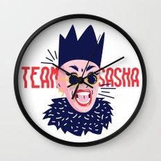 Team Sasha Wall Clock