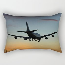 747 Sunset Landing Rectangular Pillow