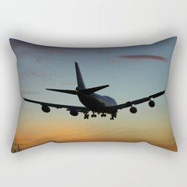 747 Sunset Landing Rectangular Pillow
