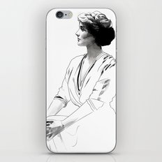 Coco - illustration of the young fashion icon iPhone & iPod Skin