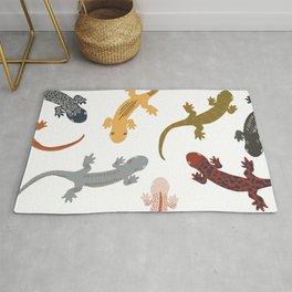 Salamanders Rug