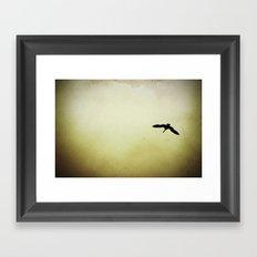 EGRET Framed Art Print