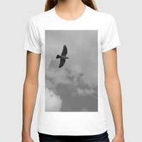 crow T-shirts featuring crow by habish
