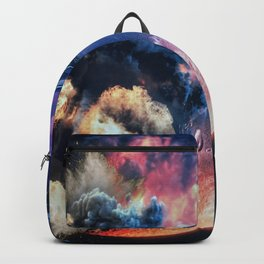 moon explosion Backpack