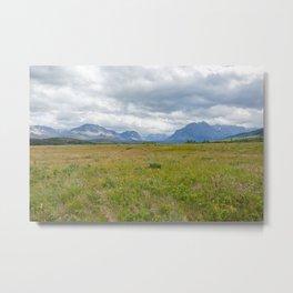 Montana Views Metal Print