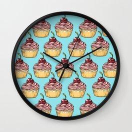 Cupcakes Party Wall Clock