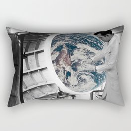 The Malfunctioned Planet Rectangular Pillow