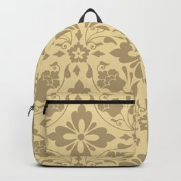 Vintage Aesthetic Abstract Pattern Backpack