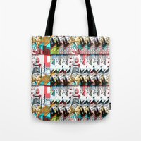 degas Tote Bags featuring The Little Dancer by Lily Mandaliou