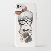 bookworm iPhone & iPod Cases featuring BOOKWORM by Kelli Murray