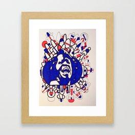 James Brown USA Framed Art Print