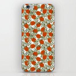 Bottlebrush Flower - White iPhone Skin