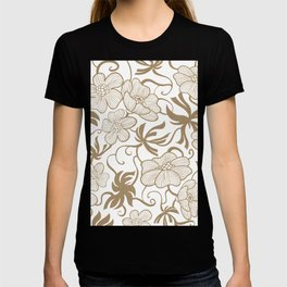 Paris 1927 - Retro Vintage Botanical T-shirt