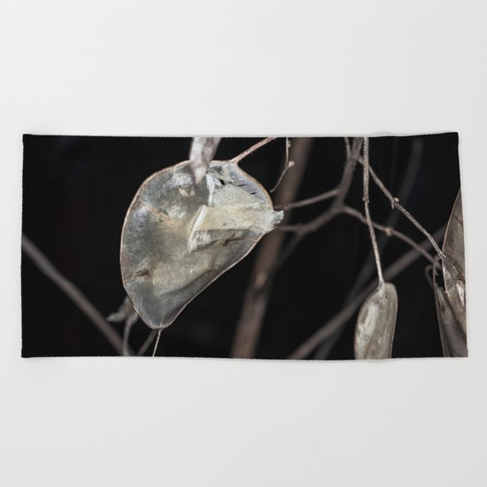 Silver dollar plant Beach Towel