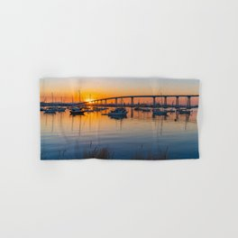 Coronado Bridge Sunrise Hand & Bath Towel