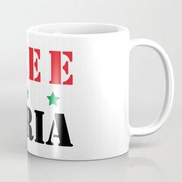 FREE SYRIA Coffee Mug
