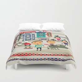 SAPA VILLAGE LIFE Duvet Cover