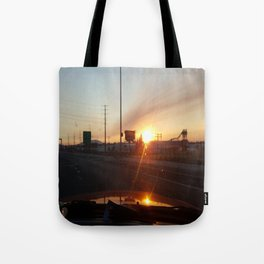 Morning Sunrise and Go Ducks! Tote Bag