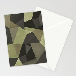Black shabby green patches of the skin . Stationery Cards