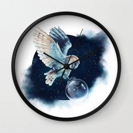 A Midnight Wish Wall Clock