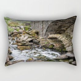Old Packhorse Bridge  Rectangular Pillow