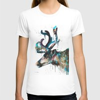 reindeer T-shirts featuring Reindeer  by Slaveika Aladjova