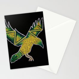 Dotty Raven Stationery Cards