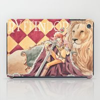 gryffindor iPad Cases featuring Gryffindor by Ili Sn