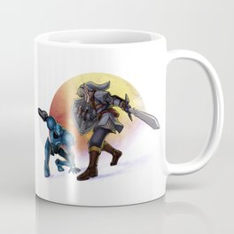Blaster & Sword Coffee Mug