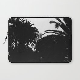 Palm silhouettes in Granada, Spain - Trbel photography Laptop Sleeve