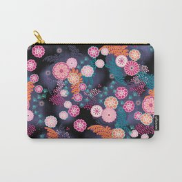 Flower Chain Carry-All Pouch