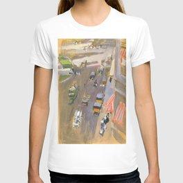 Fifth Avenue, New York by Joaquin Sorolla T-shirt