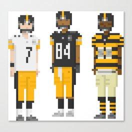 Pixskin Heroes - Pittsburgh Canvas Print