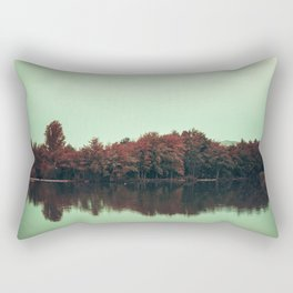 Sparkling red forest Rectangular Pillow