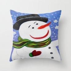 Christmas card 5 Throw Pillow