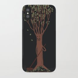 Mind your own business iPhone Case