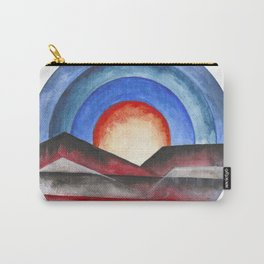 Geometric landscapes 01 Carry-All Pouch