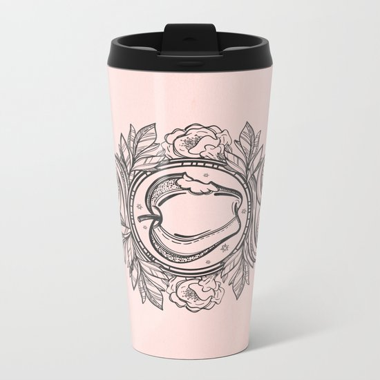 Garden of Eden Metal Travel Mug
