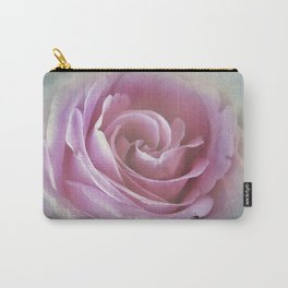 A Rose in the Heart of a Rose Carry-All Pouch