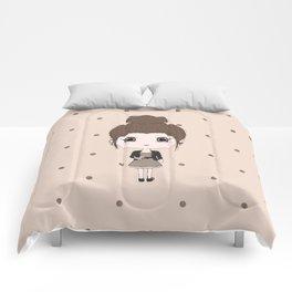 Virgo Girl Comforters