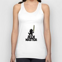 jedi Tank Tops featuring JEDI MASTER by G3no