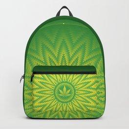Cannabis | Power plants mandala Backpack