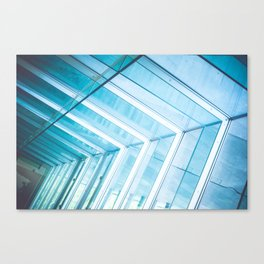 Glass Structure Canvas Print