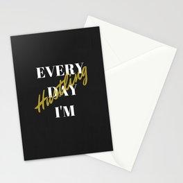 Everyday I'm Hustling Stationery Cards