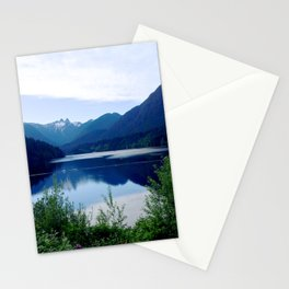 Beautiful Mountain side Stationery Cards