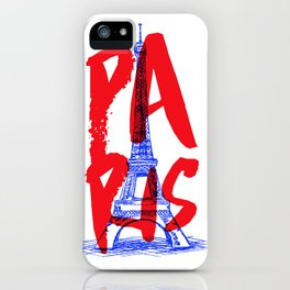 Places: Paris iPhone Case