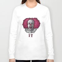 pennywise Long Sleeve T-shirts featuring Pennywise by zinakorotkova