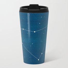 Capricorn zodiac constellation Travel Mug
